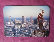 COLLECTABLE FRIDGE MAGNET ATLANTA OLYMPICS 1996 - GEORGIA USA - AERIAL CITY VIEW