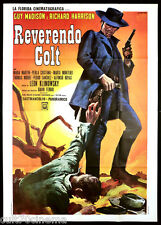 REVERENDO COLT MANIFESTO CINEMA FILM LEON KLIMOVSKY WESTERN 1971 MOVIE POSTER 4F