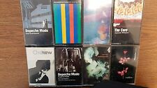 new order,depechemode, cure tapes lot of 8