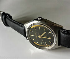 Lovely Clean Accurate Vintage ALLWYN (Seiko) Hand Winding Mens Wristwatch. 17J