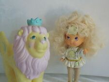 1986 Hasbro Moondreamers Blitzy doll and Roary Lion - EXCELLENT CONDITION