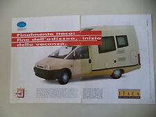 advertising Pubblicità 1996 ITACA 1900 TD FIAT ULYSSE