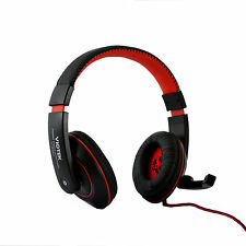 Viotek USB Gaming Headset Headphones W/ Noise Canceling Mic For the PC, PS3, PS4