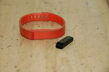 Fitbit, FB401 w/ Orange Band Not Tested, NO Charger