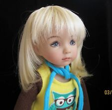 Monique Chari Wig 7/8 for Effner Little Darling Kish Ellowyne BJD MSD Blonde