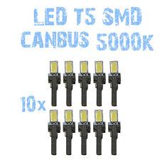 N° 10 Gloeilampen LED T5 Wit 5000K SMD 5630 Koplampen Angel Eyes DEPO FK 12v 1B6