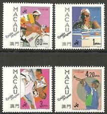 Macau - Asienspiele, Peking Satz postfrisch 1990 Mi. 653-656