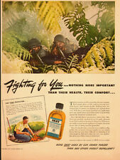 1943 WW2 AD, SKAT Insect Repellent, used by our GIs overseas -060214