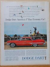 Vintage 1960 magazine ad for Dodge - Dodge Dart, First Fine Economy Car photo