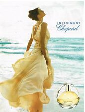 Publicité Advertising 2004 Parfum Infiniment par Chopard