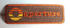 "PORTAL Game- Aperture Laboratory Orange/Tan 3.25"" Patch-FREE S&H (PORTPA-07)"