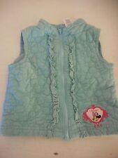 Super Cute Minnie Mouse Disney Corduroy vest zip front 18 months