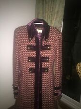 Karen Millen Long Tweed Coat 14