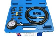 Engine Oil Pressure Test Tester Set Kit Low Oil Warning Devices Car Van LCV Tool