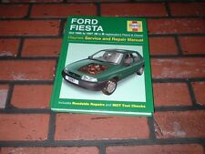 HAYNES MANUAL FOR FORD FIESTA. 1995 TO 1997. N TO R REGISTRATION