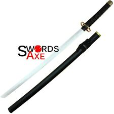Bleach Anime Sword Gin Ichimaru Wooden Cosplay Katana Shinso Convention Approved