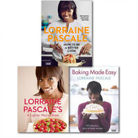 Lorraine Pascale Better Easy and Lighter way Cooking Collection 3 Books Set,