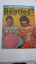 beatles monthly no 47  rare sgt pepper edition june 1967 excellent for age