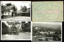 Japan JAPANESE Temples Views unknown location Original Envelope 7 PPCs