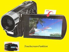 Digitalkamera/Full-HD-Camcorder/Touchdisplay 7,5 cm/ 5 Megapixel / HDMI /USB