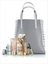 Estee Lauder Re-Nutriv Liptick,Eye Shadow,Aerin Creme Tote Bag & More Gift Set