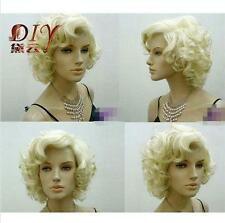 Fashion New Marilyn Monroe Short Curly Wavy Full Wigs Hair Fashion Party Cosplay