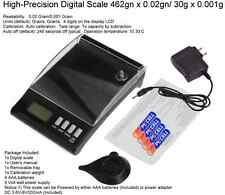 DIGITAL RELOADING SCALE W/CALIBRATION WEIGHT. 462gn / 0.02 gn accuracy
