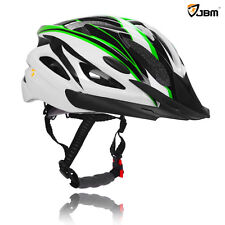 JBM Adult Cycling Bike Helmet Specialized for Mens Womens Safety Protection Red