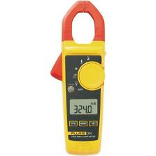 Fluke 324 40/400A AC, 600V AC/DC True-RMS Clamp Meter with Temperature