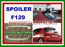 SPOILER ALETTONE LUNOTTO PEUGEOT 207 3/5 PORTE GREZZO  REPL GTI F129G SI129-1kl