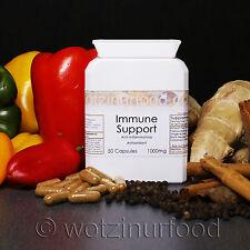 Apoyo inmunológico orgánico pimentón Jengibre Canela cúrcuma Cápsulas De Vitamina C 1000mg