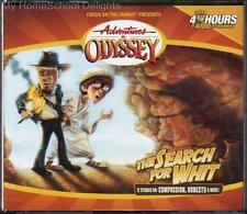 NEW Adventures in Odyssey #27 THE SEARCH FOR WHIT 4 CD Children's Audio Set FOTF