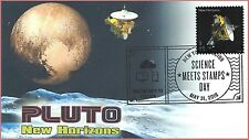 Pluto New Horizons Spacecraft World Stamp Show 2016 Pictorial Show Cancel FDC