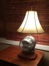 RARE / VINTAGE / ANTIQUE  ELECTRIC METER TABLE LAMP / STEAMPUNK :