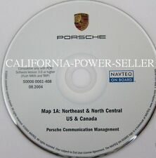 Porsche PCM Navigation CD East For Eastern US & Canada Map © 2002-1 Edition 2003