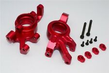 TRAXXAS X-MAXX 7076 GPM RED ALUMINUM FRONT KNUCKLE ARMS TXM021