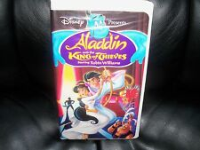 Aladdin and the King of Thieves (VHS, 1996) EUC