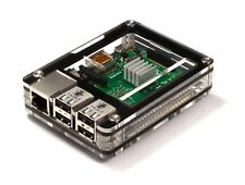 Zebra Black Ice Case ~ for Raspberry Pi 3, Pi 2 and B+  ~  by C4Labs