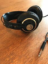 Rare Vintage AKG K240 Stereo Headphones Made in Austria Black