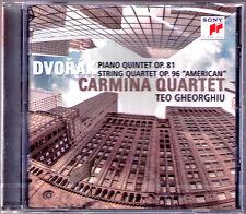 Carmina quartetto, Teo Gheorghiu: Dvorak Amercian String Quartet Piano Quintet CD