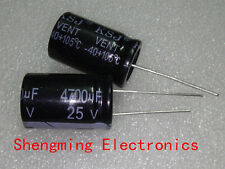 10pcs 4700uF 25V 105C Electrolytic Capacitor 16x25mm