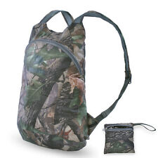 Urltra-light Waterproof Backpack Hiking Folding Camouflage Camo Bag Daypacks