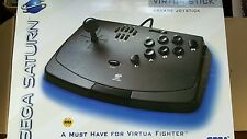 Official Sega ARCADE VIRTUA Fighter Stick Controller Game Pad Black BRAND NEW