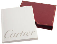 Cartier Watch Instruction Manual With Red Case