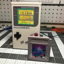Modded Gameboy DMG, Washed Yellow Backlight, Glass Screen, Tetris Bundle, Bivert