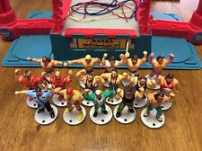 WWF HASBRO ROYAL RUMBLE MINI RING W/ FIGURES HULK HOGAN TITAN SPORTS WWE SET