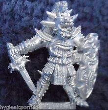 1985 Chaos Warrior 0203 08 C35 Jagglespur Citadel Warhammer Army Evil Fighter GW