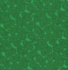 QUILT FABRIC: 100% COTTON, SMOOTH SWIRL, HUNTER GREEN,  SG-05, Tonal blender BTY