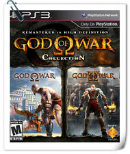2 IN 1 PS3 GOD OF WAR COLLECTION Sony Playstation Action Games SCE