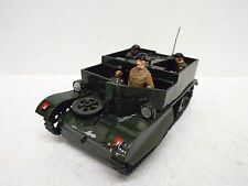 FUSILIER MINIATURES WW2 BRITISH BREN GUN CARRIER & 4 FIGURES (BS1541)